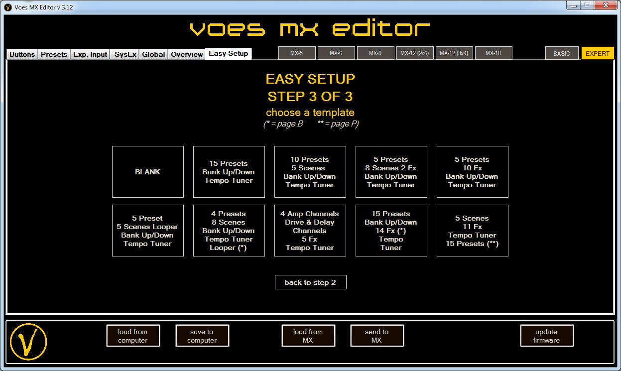 Voes MX Editor